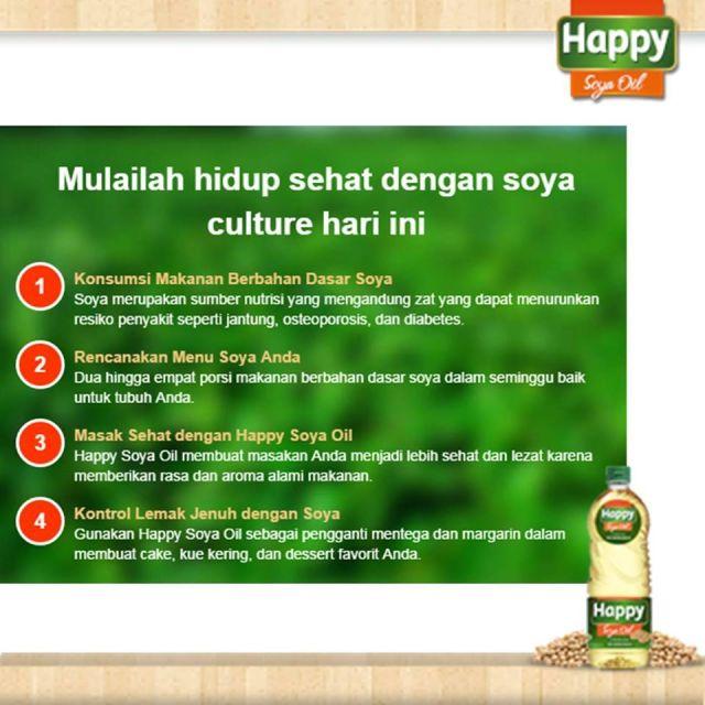 4 cara hidup sehat dengan soya culture