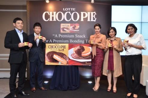 Prosesi peluncuran Lotte Choco Pie (1)